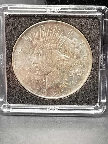 1922 Peace Dollar Uncirculated