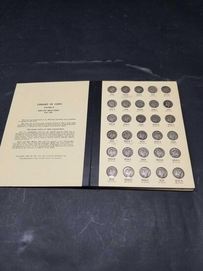 Complete Mercury Dime Collection 1916-1945