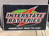 Interstate Batteries sign
