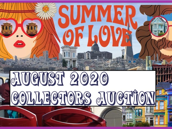 August 2020 Summer of Love Collectors Auction