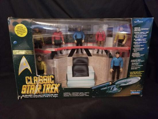 1993 Star Trek Playmates Limited Edition Figure Set