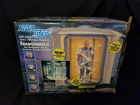1993 Star Trek Transporter Toy in Box