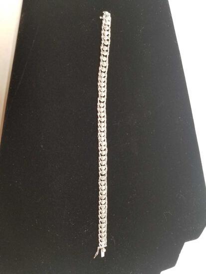 1 Carat Diamond Ropework Tennis Bracelet