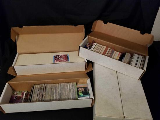 4000+ Baseball Cards 1980s-1990s