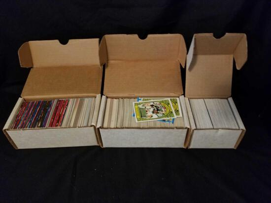 1000+ Football Cards 1980s-1990s