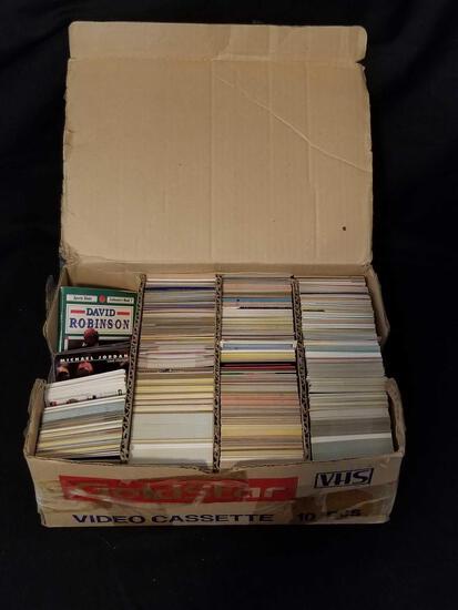 2000+ Baseball Basketball Cards