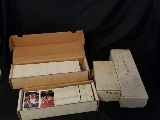 4000+ Basketball Cards 1970s-1990s
