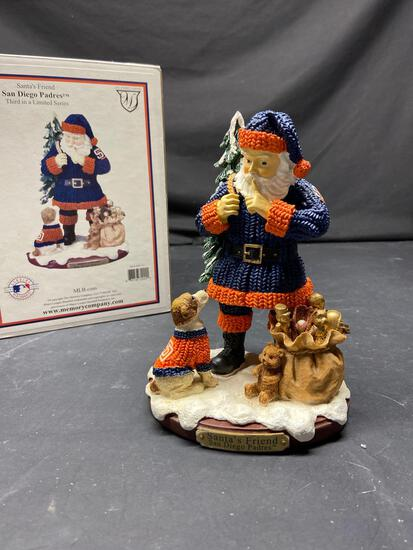 Santas friend San Diego padres third in a limited series
