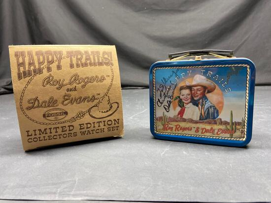 Happy trails Roy Rogers and Dale Evans Limited edition lunchbox