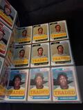 1972 1974 Topps Baseball Cards in Binder