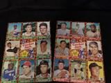 1982 Cracker Jack Uncut Sheets Baseball Cards