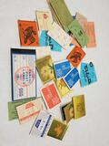 1960s Stamp Books Different Countries