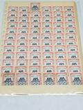 72 1947 Grand Central Palace Stamps