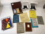 Box of Goodies, Cartouche, Tarot Deck, Books