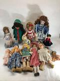 Lot of Dolls,12 Units