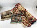 Decorative Rugs, 3 Units