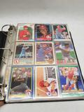 Binder Full of Baseball Cards in Pages