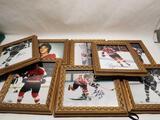 Philadelphia Flyers Broad Street Bullies Signed Photos 8 Units