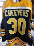 Gerry Cheevers Signed Hockey Jersey COA