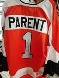 Bernie Parent Signed Hockey Jersey COA