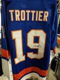 Bryan Trottier Signed Hockey Jersey COA