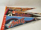 Baseball Pennants Angels Padres Firebirds 11 Units