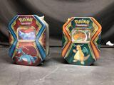 Pokemon Card Trading Tins