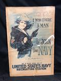 Navy Recruitment Ad Early 1900s