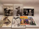 Hollywood Actors Signed Photos 7 Units