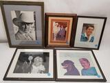 Hollywood Actors Signed Photos 5 Units