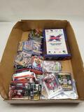 Box of Star Rookie Football Cards