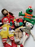 Vintage Plush Dolls Ronald Betty Boop Robin