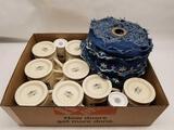 Box Full of Military Coffee Mugs Cloth