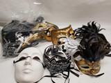 Collection of Mardi Gras Masquerade Mask