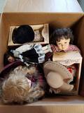 Box Full of Dolls