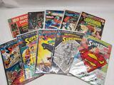 DC Superman Comic Books 10 Units