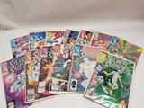 Marvel Silver Surfer Comic Books 13 Units