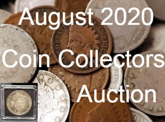 August 2020 Coin Collectors Auction