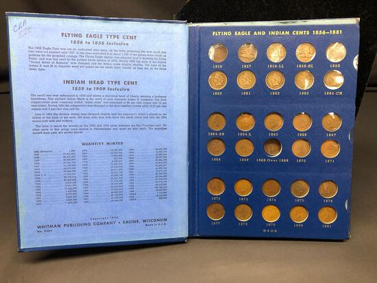 Complete Indian Head Cent Collection