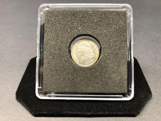 1830 Caped Bust Half Dime