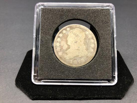 1818 Caped Bust Quarter