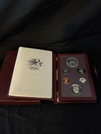 1984 US Mint Olympic Prestige Set