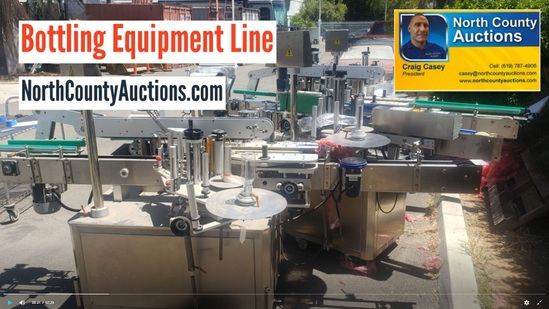 August Bottling Assembly Line Auction