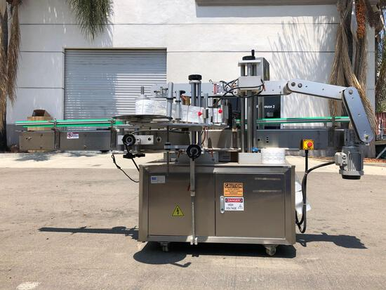 AFG Process Systems  1ph Industrial Labeling Machine Lemon Juice