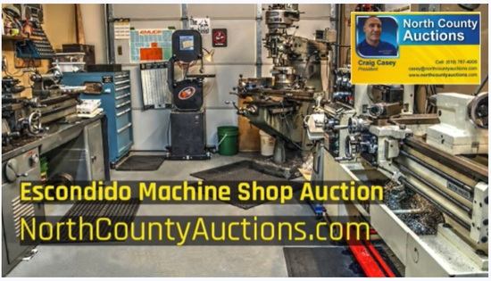 2020 October Machine Shop Auction