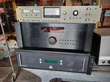 Varian NRC840 Vacuum Ionization Gauge, Rotel RSX-1056 Reciever, Crestron CEN-UPS1250 Power Supply