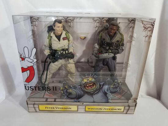 2011 Ghostbusters II Peter Winston Collectible Figures