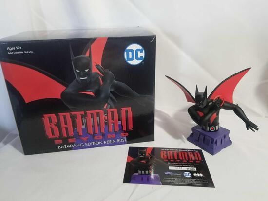 DC Batman Beyond Limited Edition Batarang Resin Bust