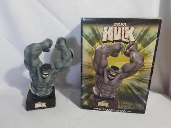 Marvel Dynamic Forces Grey Hulk Limited Edition Bust