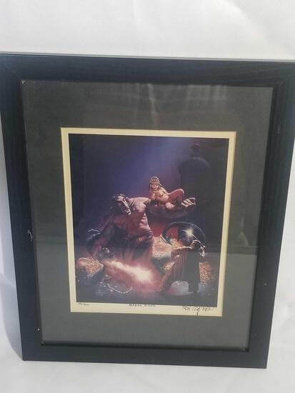 Rich Corben Signed Lithograph Arabian Nights